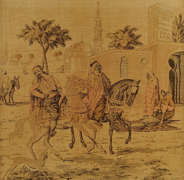 Tapestry Of Bedouin On Horseback