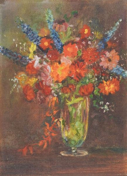 1920's Floral Still Life Painting