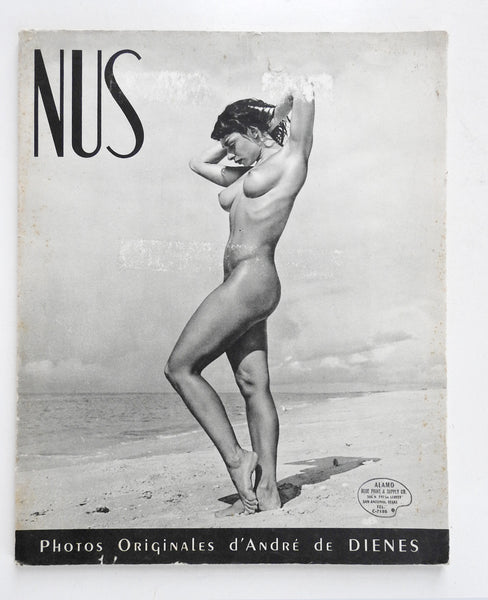 Nus French Book of Artistic Nude Photographs by Dienes
