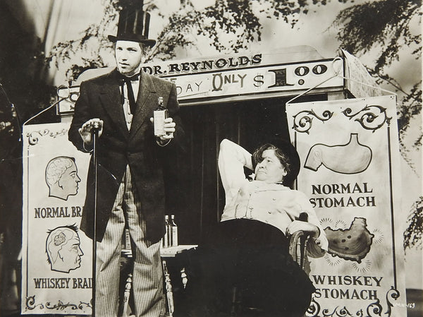 1940 RKO Radio Pictures Quack Snake Oil Salesman Still Photograph