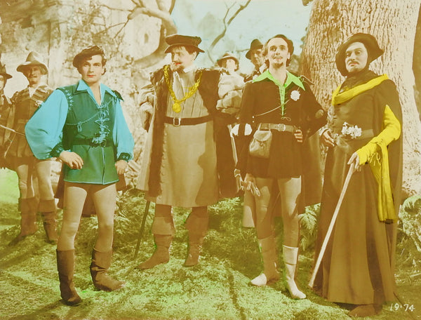 Laurence Olivier As You Like It Men in Tights