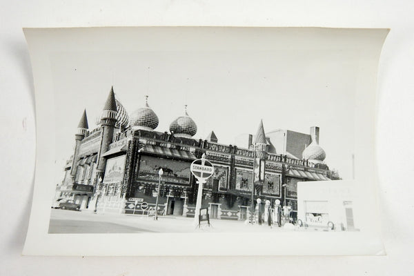 1940's Mitchell Corn Palace South Dakota Standard Oil Photograph