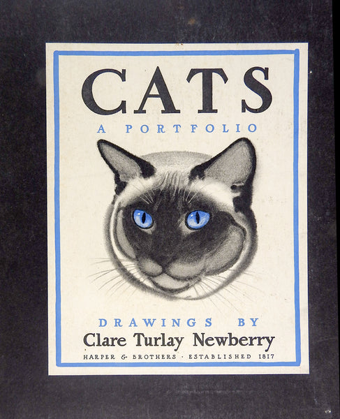 Cats: A Portfolio of Prints by Clare Turlay Newberry