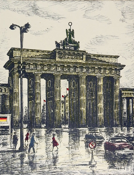 Brandenburg Gate Berlin Print