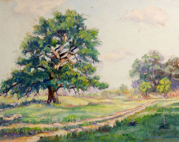 Old Oaks Landscape Painting