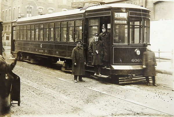 Streetcar trolley CSL Chicago State RPPC