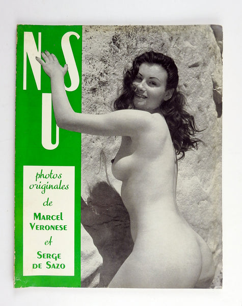 Nus 1950's French Book of Artistic Nude Photographs