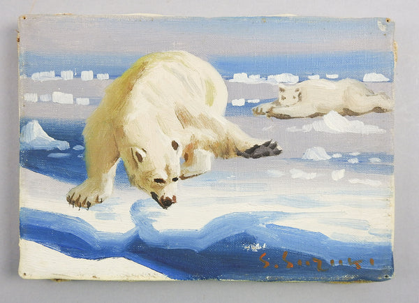 Polar Bears Painting