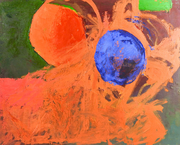 Abstract Spheres Painting By Bruce Clements