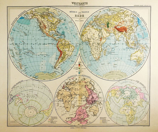 Stielers Hand Atlas 100 Maps