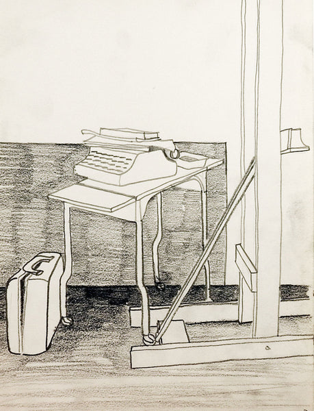 Office Interior Drawing