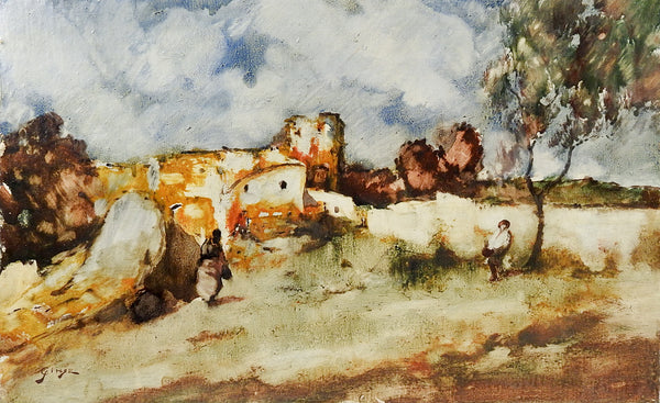 Impressionist Spanish Painting By Giner