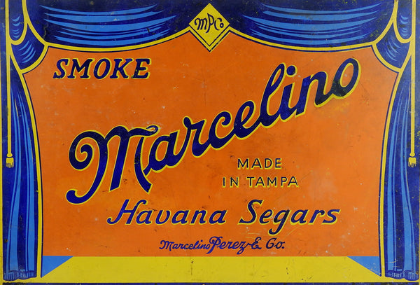 Marcelino Cigar Sign