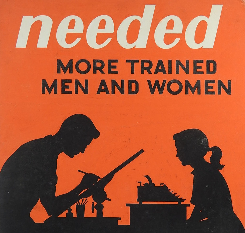 1950's Poster Technical School