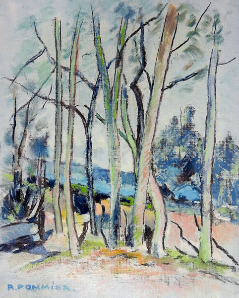Modernist French Landscape Painting