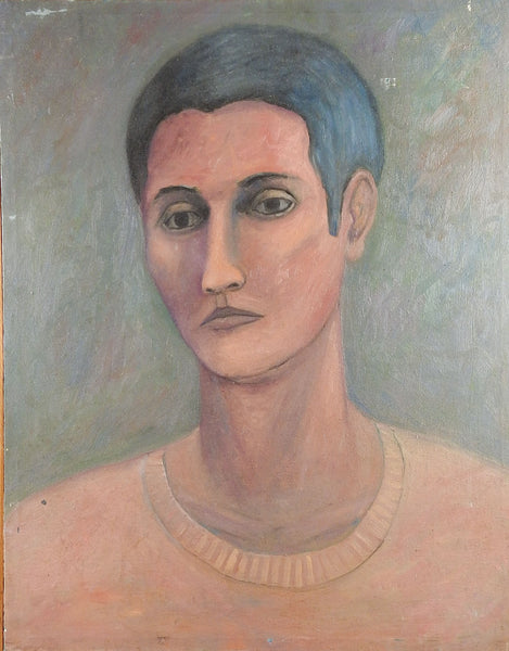 Modernist Portrait Painting