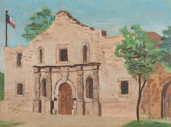 The Alamo, San Antonio, Texas Painting