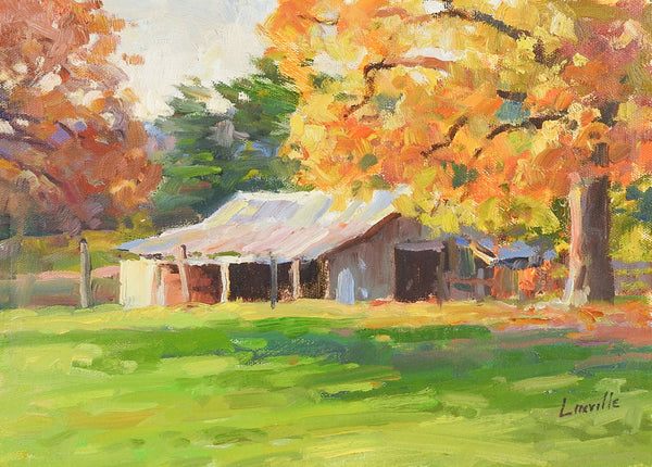 Plein Air Landscape Painting By Marlin Linville