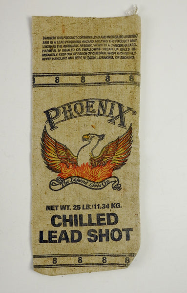 Heavy Canvas Phoenix Lead Shot Bag
