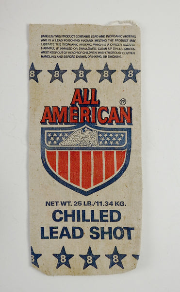 Heavy Canvas All American Lead Shot Bag