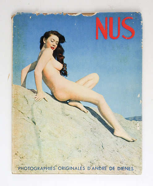 Nus French Book of Artistic Nude Photographs by Dienes 1949