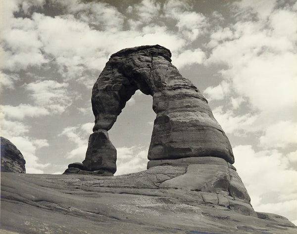 1950's Vintage Photograph Of Arches National Park
