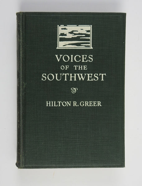 Voices of the Southwest: A Book of Texan Verse