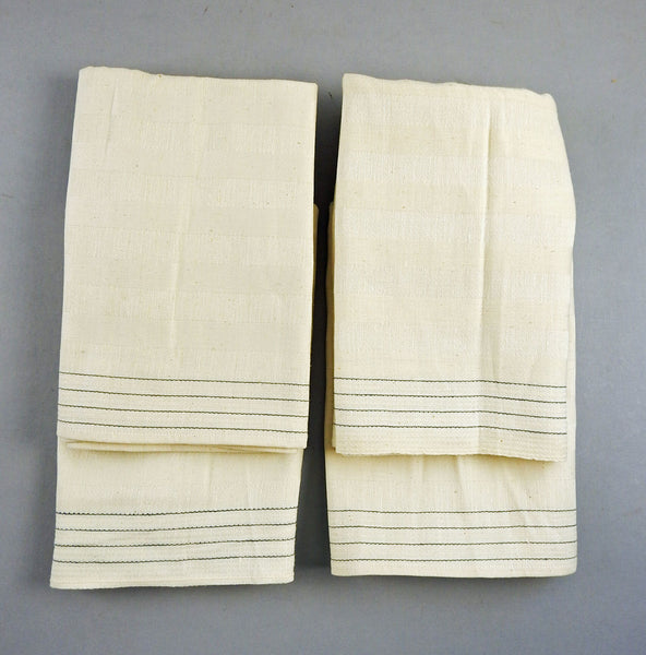 German Linen Hand Tea Towels - Set of 4