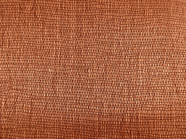 Rust Drapery Weight Cotton Textural Fabric  3+ Yards