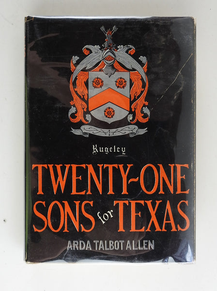 Twenty-one Sons for Texas Book