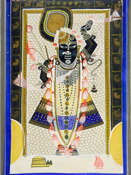 Vintage Shrinathji Painting