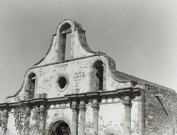 Ruins of Guerrero Viejo Photograph Mexico Mission