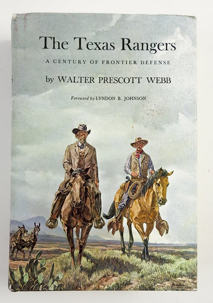 The Texas Rangers: A Century of Frontier Defense Book