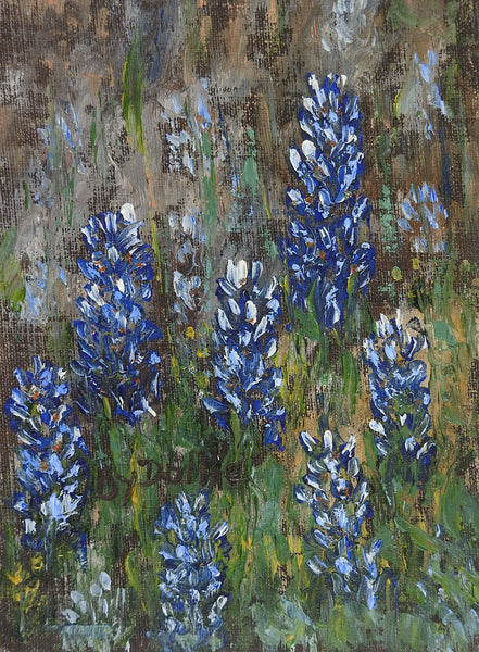 Small Bluebonnet Painting