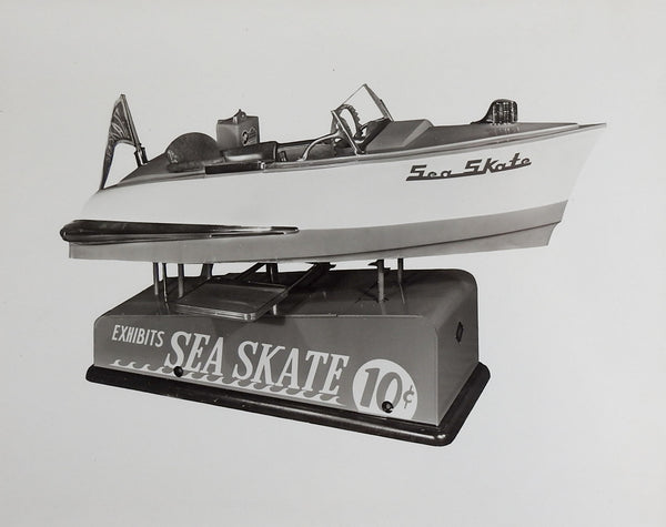 1950's Sea Skate Boat Kiddie Ride Photograph