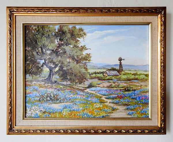 Texas Bluebonnet Painting By Anna Hurley
