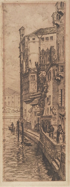 Venice Etching By William Scott