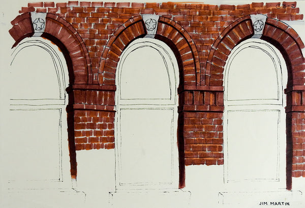 Drawing Brick Arches