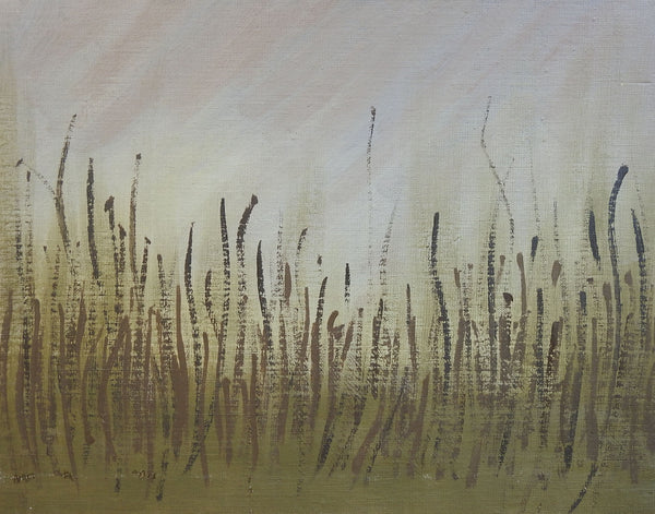 Abstract Grass Painting
