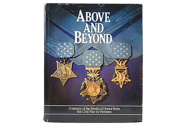 Above & Beyond History Medal of Honor Book