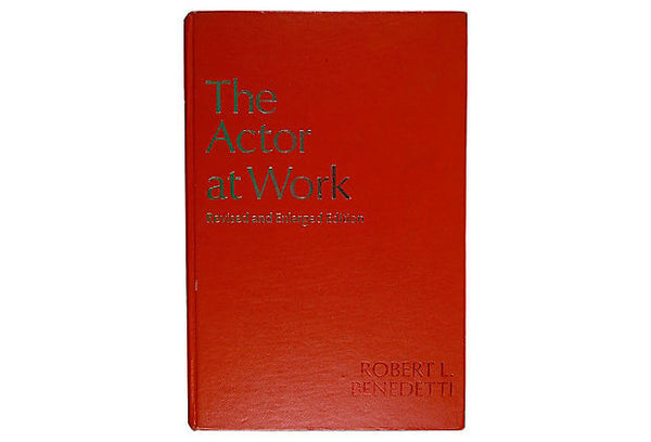 The Actor at Work Book