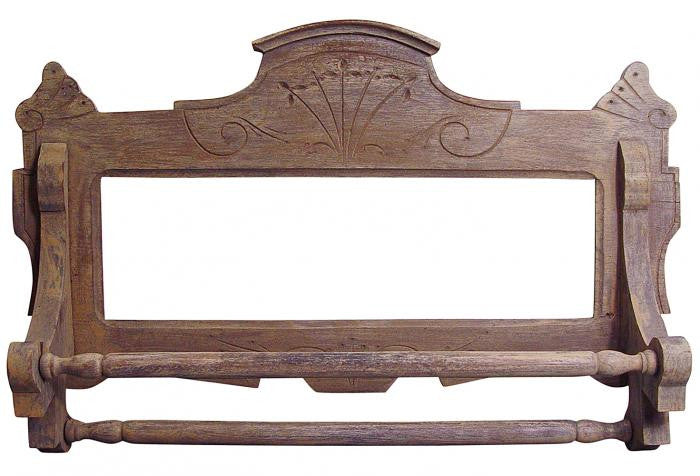 Antique Eastlake Towel Rack - Artifax antiques & design