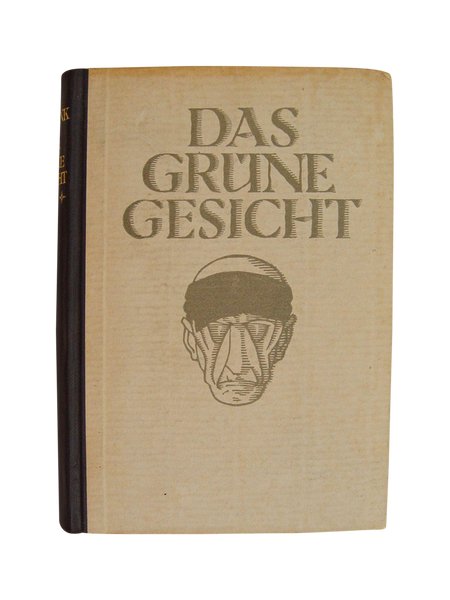 1923 Das Grüne Gesicht Book - Artifax antiques & design