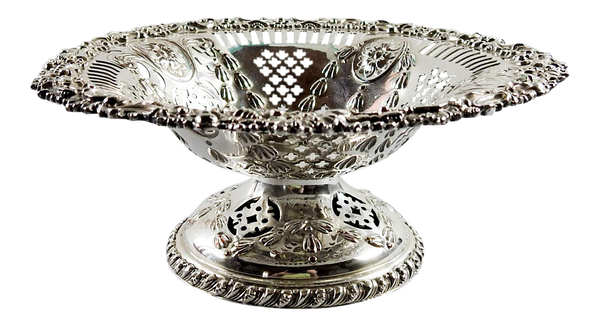 Ellis Barker Silverplate Compote