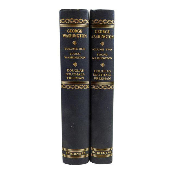 Young George Washington 2 Volumes Books