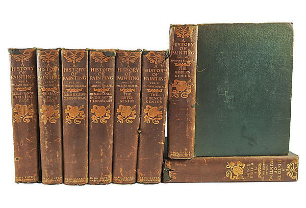 A History of Painting Books 8 Volumes