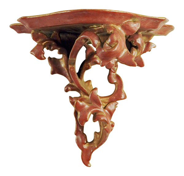 Italian Carved Gilt Wood Wall Shelf Bracket