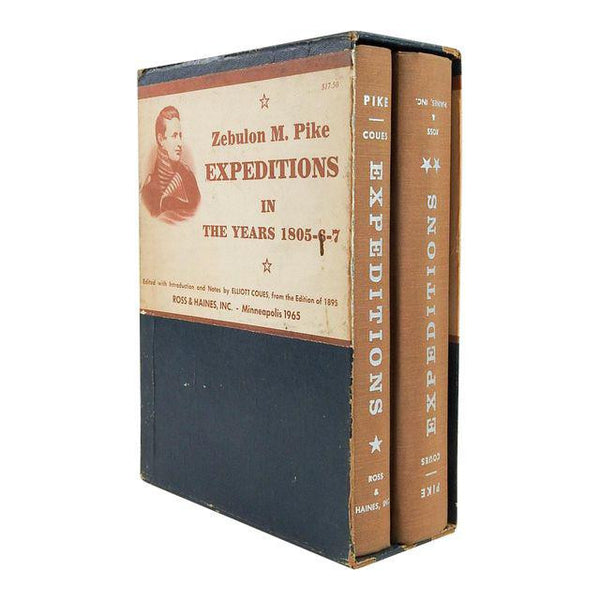 Expeditions of Zebulon M. Pike 2 Volumes Books