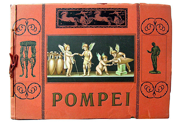 Pompei, 36 Photos, Circa 1910