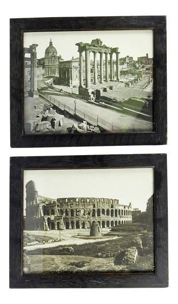 Circa 1900 Roman Ruins Photographs - A Pair